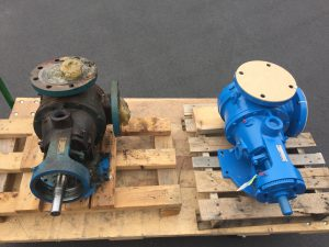 Viking Gear Pump Before/After
