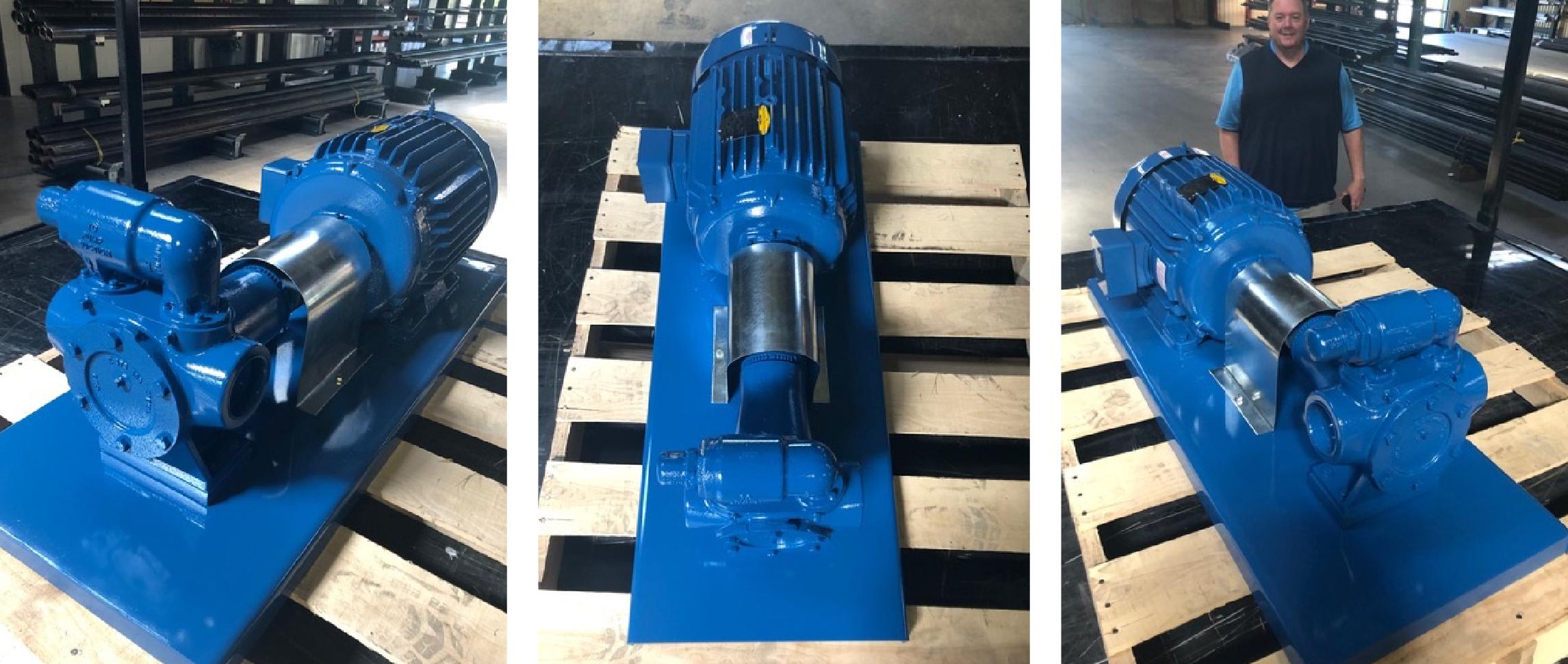 Custom Pump Packager